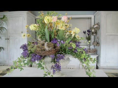 Everlasting Spring Flower Arranging Floristry Tutorial