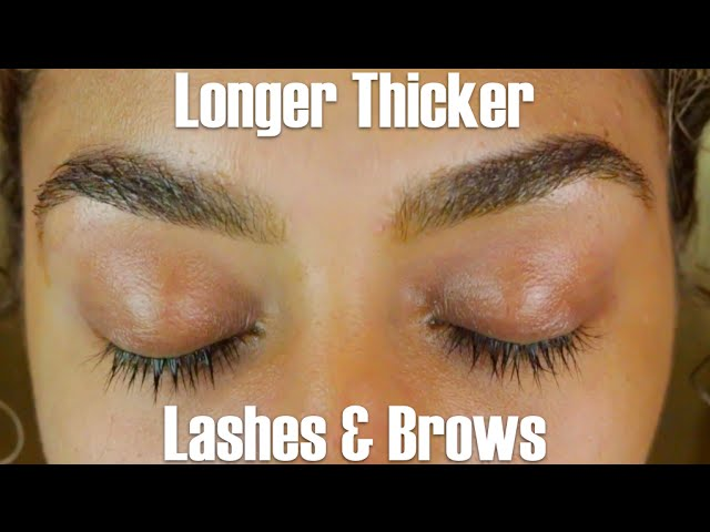 How To Grow Longer Eyelashes And Fuller Eyebrows Naturally