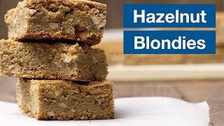 Hazelnut Brown Butter Blondies || Le Gourmet TV Recipes