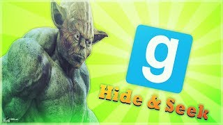 GMOD - Hide & Seek - Buff Yoda - Nature Show -  Comedy Gaming