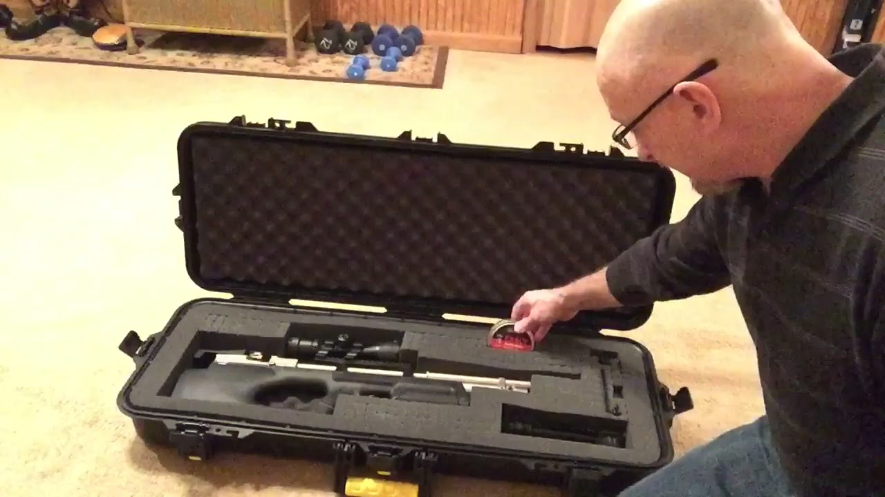 The perfect gun case for the Kral Puncher Breaker Silent!