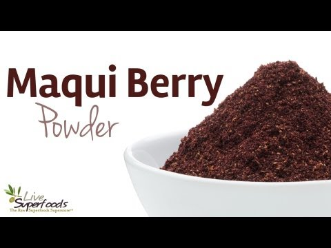 All About Maqui Berry Powder - LiveSuperFoods.com