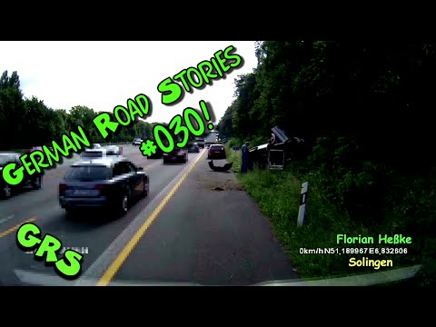 German Road Stories #030 Dashcam Germany Crash