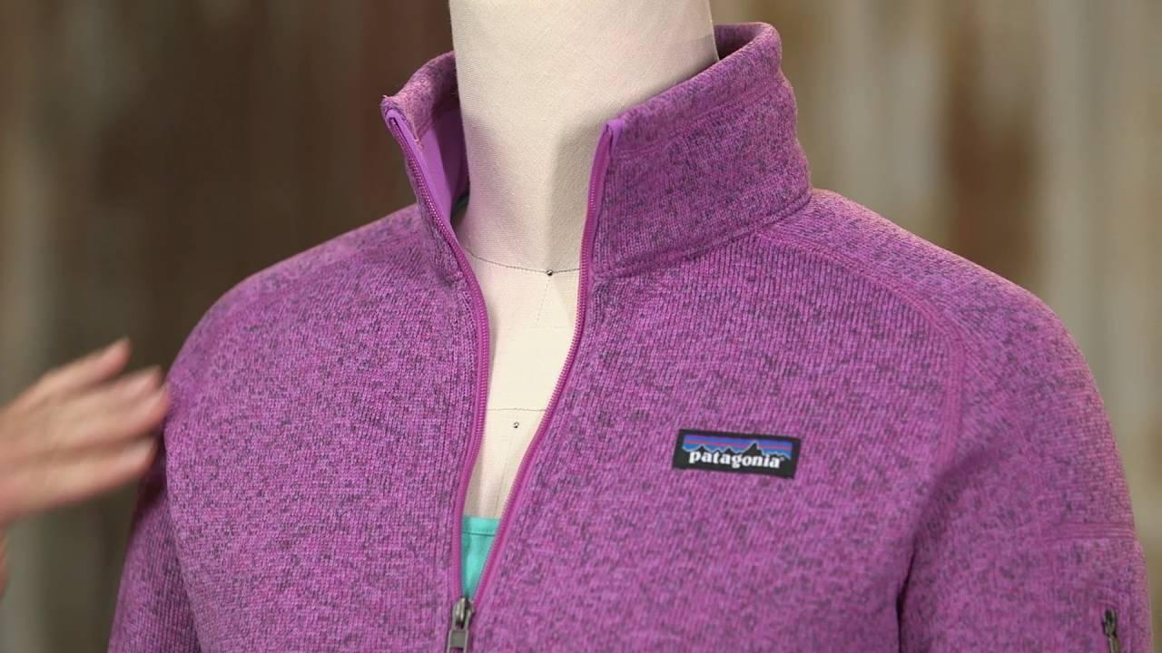 Patagonia Womens Better Sweater 14 Zip On Ebagscom Youtube
