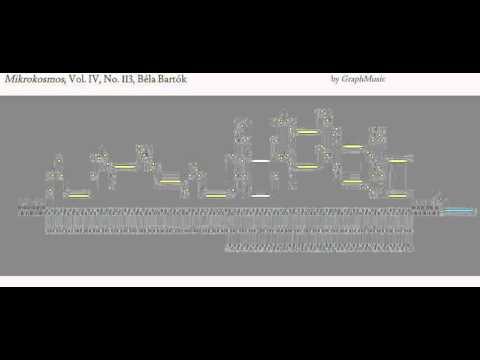 Bulgarian Rhythm (I), Mikrokosmos, Vol. IV, No. 113, Béla Bartók