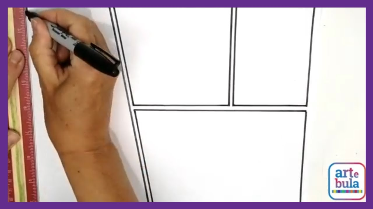 Learn How to Draw Your own Comic Book Page Layouts