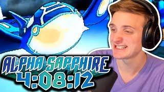 CRIPPLING FINISH? ;-; | Pokemon Alpha Sapphire Any% Speedrun in 4:08:12
