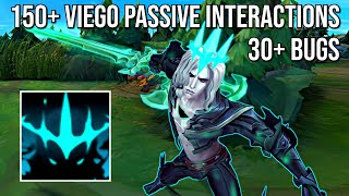 150+ Viego Passive Interactions (30+ Bugs included) [Yuumi, Ornn, Yone, Zac, Azir & more...]