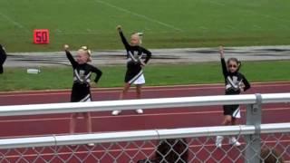Bridgette cheering  Enterprise  Jr. Hornets