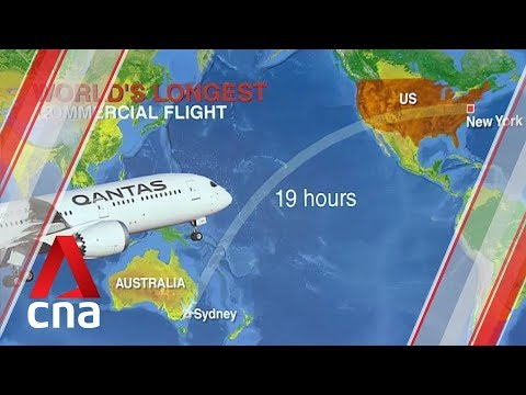 Qantas To Launch World's Longest Non-stop Commercial Flight