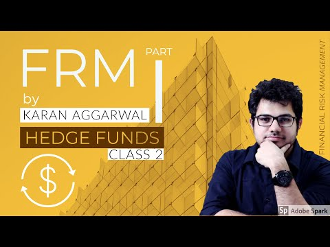 FRM Part 1 I Hedge Fund Class 2 Part 1 | SSEI