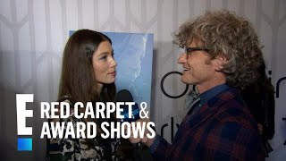 Watch Jessica Biel Make Her Singing Debut | E! Live from the Red Carpet