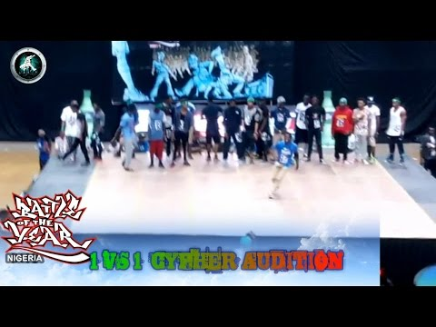 BATTLE OF THE YEAR NIGERIA 2015 1 VS 1 CYPHER SHOWCASE | FLAVORED BY SPRITE