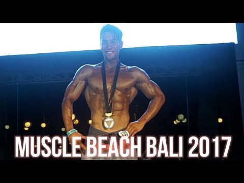 JUARA 1. | MUSCLE BEACH BALI VLOG 2017