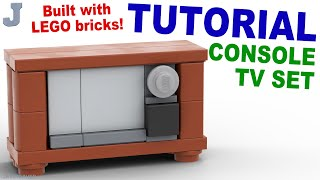 Tutorial - Lego Console Tv [cc]