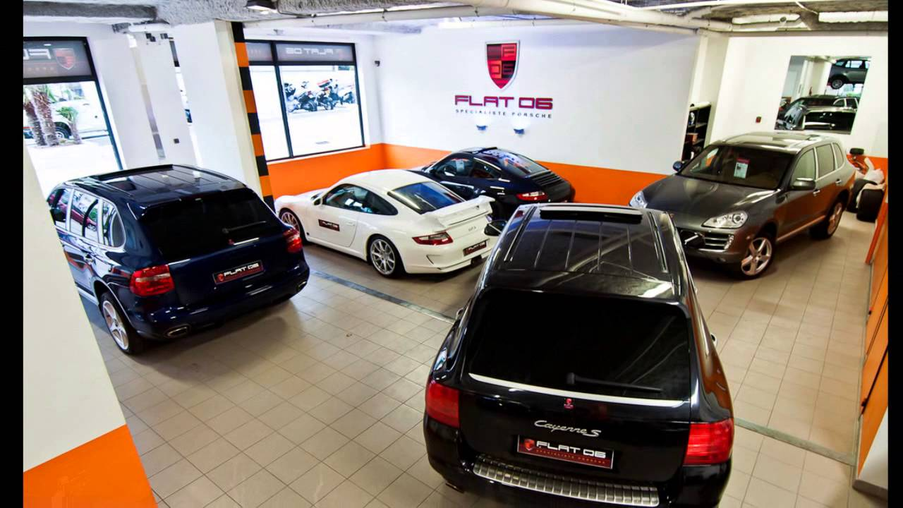 Garage porsche flat06 youtube for Garage porsche montelimar