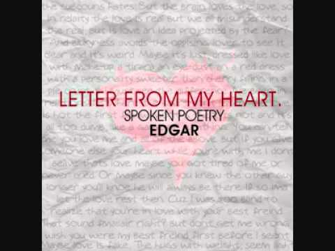 an emotional letter from my heart Deep emotional love letters dearest nivy, i am sorry my sweet heart, you know that i'm happier than i have ever been, and i owe that joy to you.