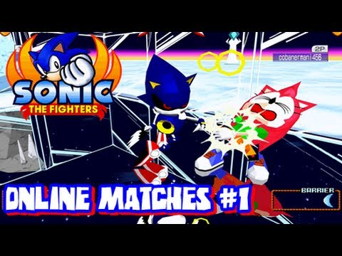 Sonic the Fighters - HD 1080p - Online Matches #1