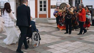 Свадьба в царицыно  Цыгане на свадьбу  Поздравление, встреча цыган  Москва