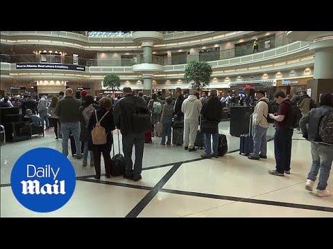 Travelers face massive delays due to TSA worker shortage