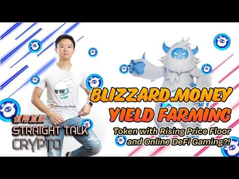 Blizzard.money Yield Farming | Token w/ Rising Price Floor & Online DeFi Gaming P2E?!