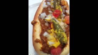 Detroit Style Coney Dog