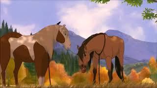 Spirit: Stallion of the Cimarron - Schwimmen-Szene