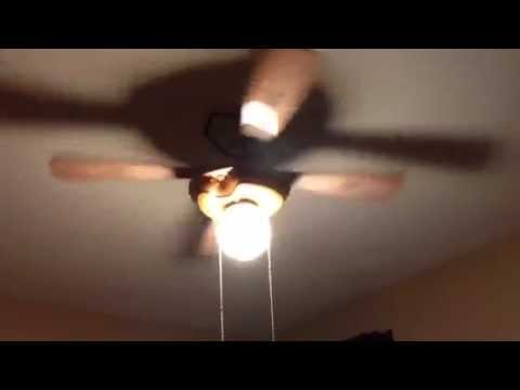 Hunter baseball ceiling fan played to walk of life youtube aloadofball Gallery