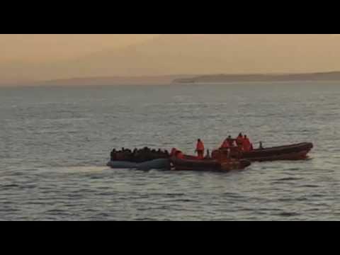 Anija shqiptare shpeton sirianet ne detin EGJE