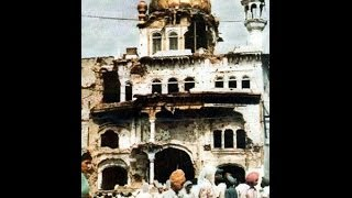 Storming The Temple  - Operation Blue Star