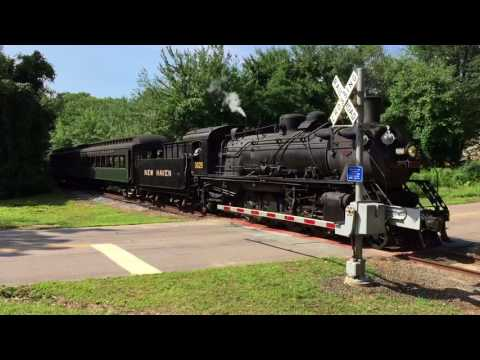 Saybrook Special Northbound at Connolly Drive, Old Saybrook, CT 8-6-2017