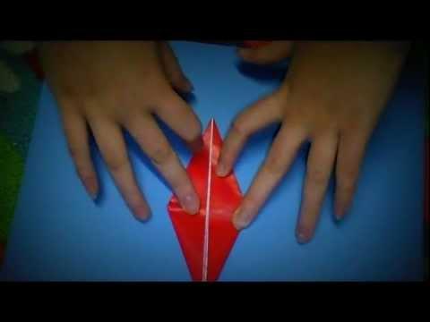 The Best Origami Crane Tutorial