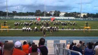 Hialeah Gardens Marching Band at Boca Raton 2013