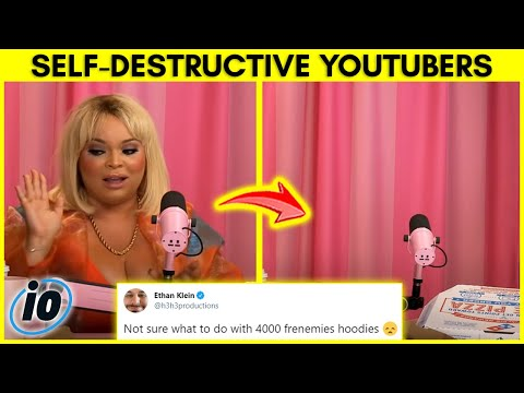 Top 10 YouTubers That Ruined Their Own Career