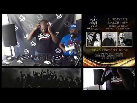 Seksy Sundays & Urban Dubz With DJ MJ, CKP & Jeremy Sylvester (Part 1)