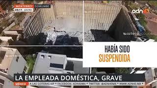 La obra que se realizaba cerca del derrumbe en Monterrey ya había sido suspendida.