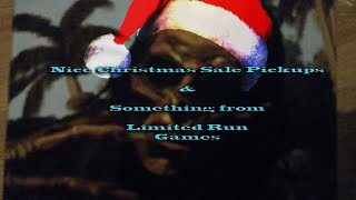 Nice Christmas Sale Pickups & Something from Limited Run Games