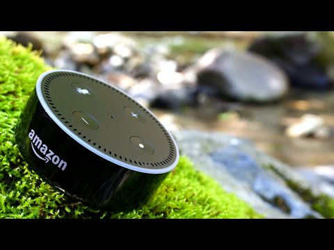 Echo Dot 2. Alexa! C'est qui le plus beau!? Ding! Je ne sais pas! 😭😭 Part1/2
