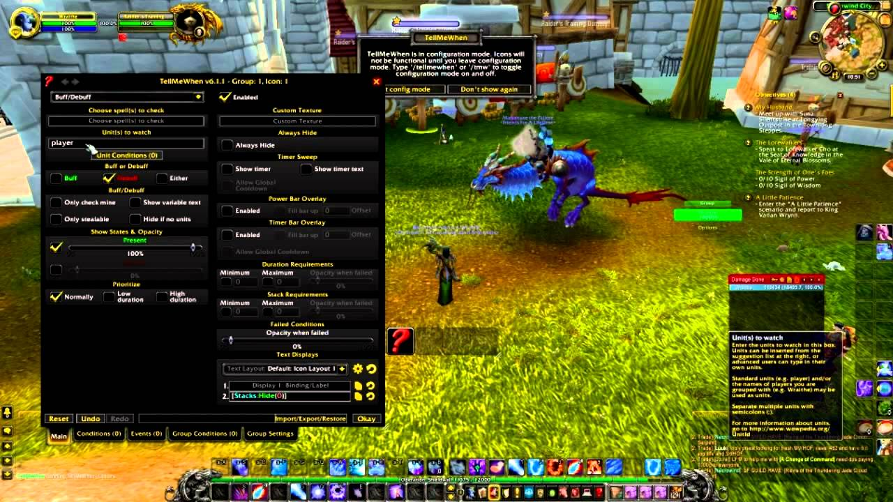 Tellmewhen arcane charge for mages guide wow mop addon for Cuisinier wow guide