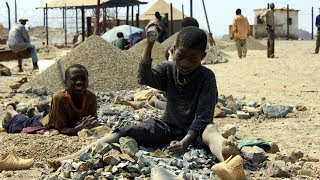 Congolese Children Used To Extract Cobalt For Cell Phones, Laptops & Tablets