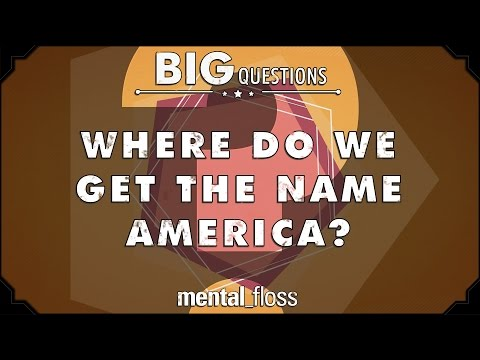 Where did we get the name America?  - Big Questions - (Ep. 201)