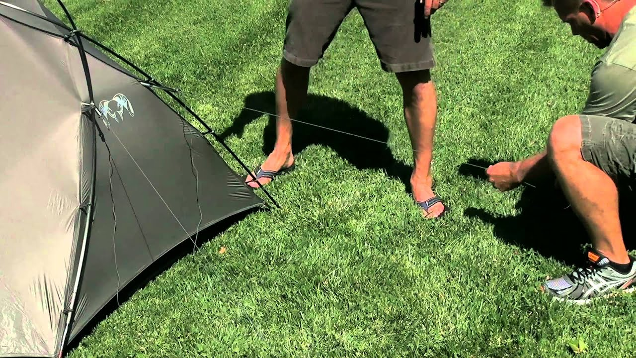 KUIU Mountain Star Tent Setup & KUIU Mountain Star Tent Setup - YouTube