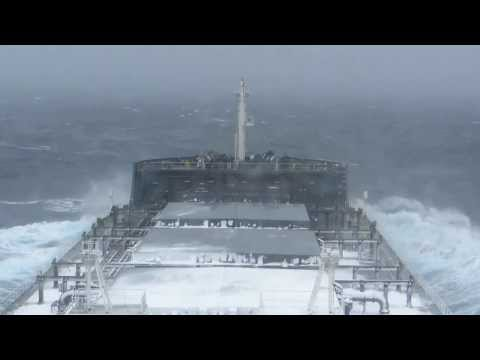 North Pacific Ocean en-route to Tsugaru Strait, Snowfall stopped