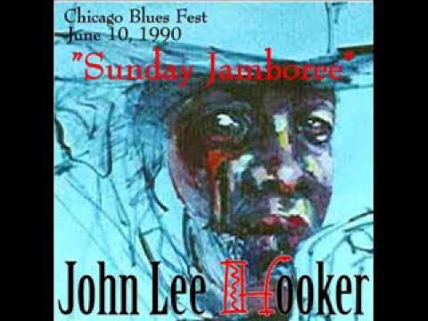 John Lee Hooker - Chicago Blues Festival, 1990