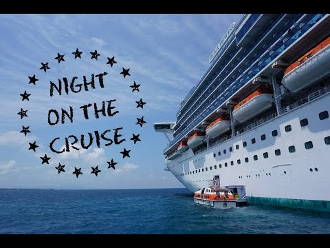 Cruise Diary: Night on the Cruise. // Day 1 遊輪日記#1:海上第一夜