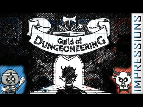 Guild of Dungeoneering [Dungeon Card Tactics] - Impressions