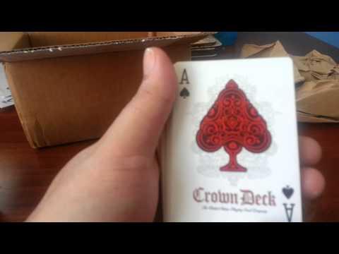Rare playing card decks part 1