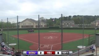 Reddies Softball vs. Southeastern Oklahoma (Games 3 & 4)   April 6, 2019