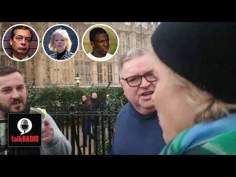 Westminster Intimidation | Anna Soubry, Nigel Farage and Femi Oluwole