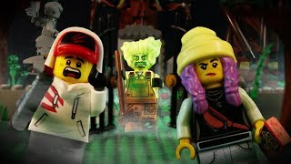 LEGO Hidden Side STOP MOTION LEGO Halloween: Haunted Graveyard | LEGO Hidden Side | Billy Bricks
